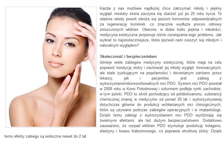 mttestetica polska kosmetologia