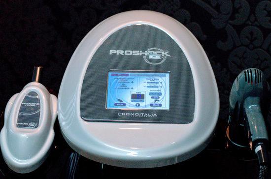 Kriolipoliza proshock ice urządzenie